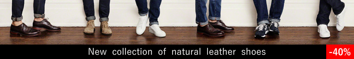 خرید اینترنتی کفش چرم مردانه ، کفش اسپرت مردانه