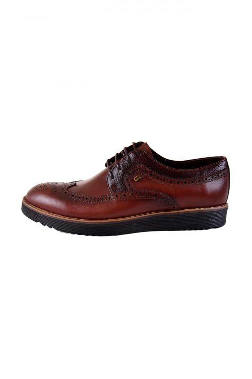 کفش راحتی چرم طبیعی مردانه CAMEL