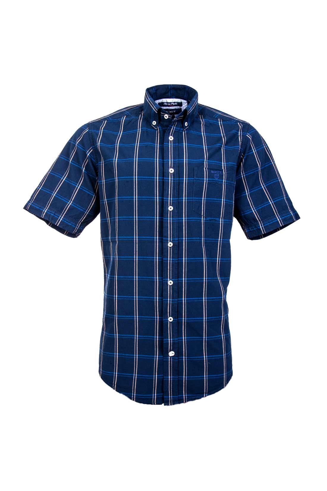 پیراهن کوتاه دو تکه پیراهن چهارخانه آستین کوتاه مردانهEXIT   فروشگاه اینترنتی ...