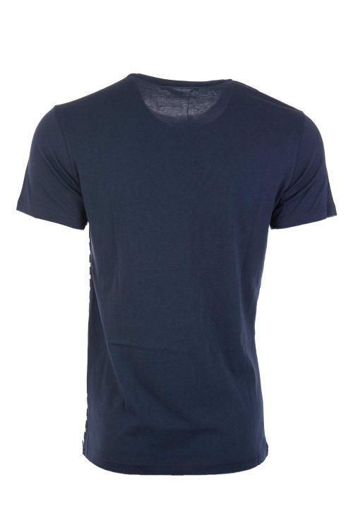 تی شرت نخی راه راه مردانه limon