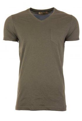 تی شرت نخی یقه هفت مردانه J.WARGAS