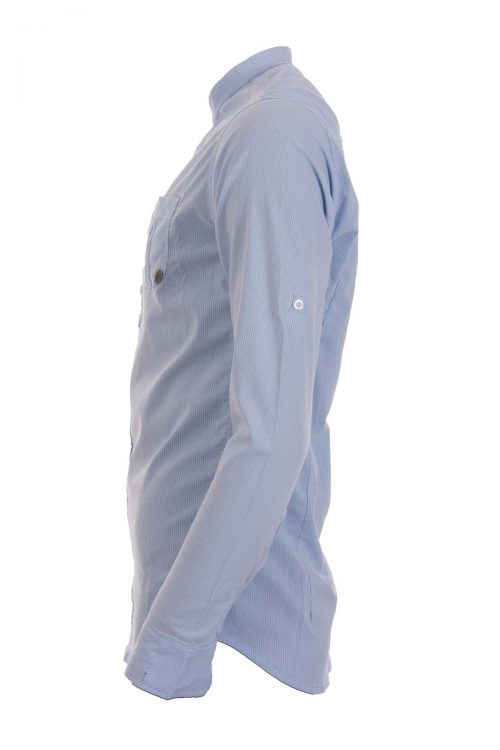 پیراهن کشی یقه دیپلمات مردانه HERMES