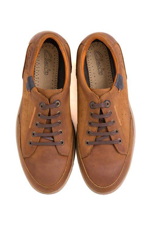 کفش راحتی چرم طبیعی مردانه Clarks