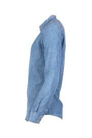 پیراهن جین یقه دیپلمات مردانه
