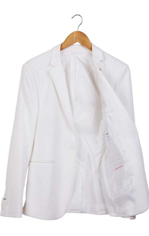 کت اسپرت مردانه سفید
