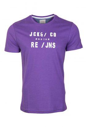 تیشرت طرح دار مردانه Jack & Jones