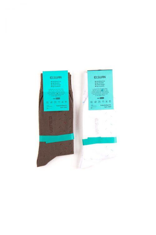 جوراب مردانه ساق دار 2 عددی ELSWAN
