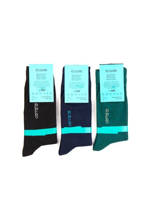 جوراب ساق دار 3 عددی مردانه