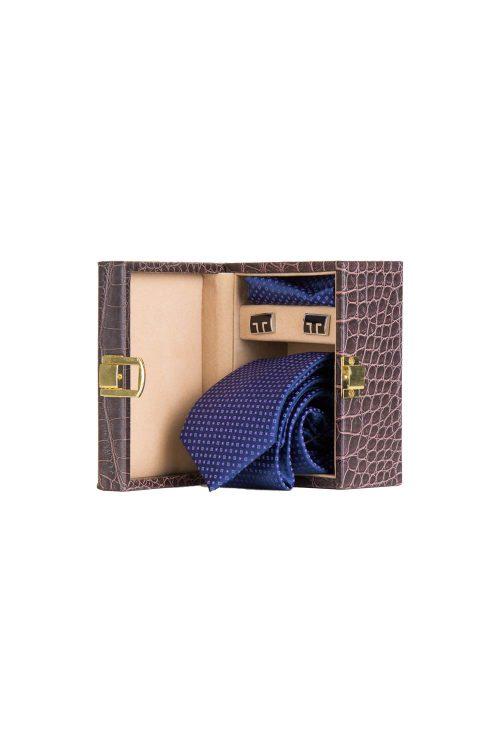 ست کراوات و پوشت مردانه Massimo Dutti