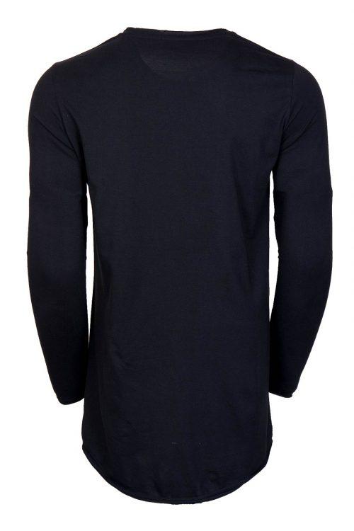 تی شرت لانگ مردانه آستین بلند H&M