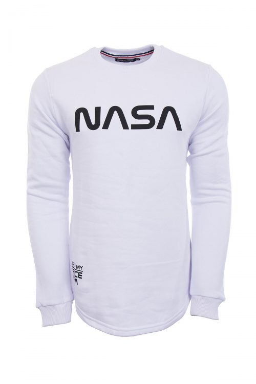 سویشرت لانگ جلو بسته مردانه NASA