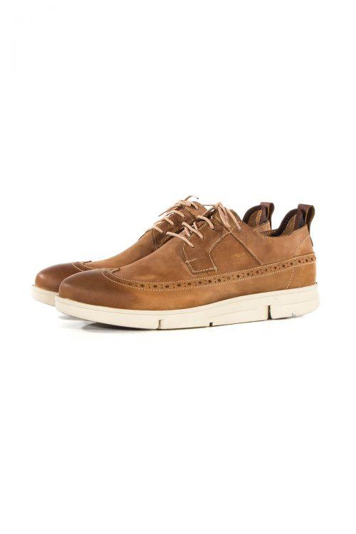 کفش چرم طبیعی مردانه طرح Clarks