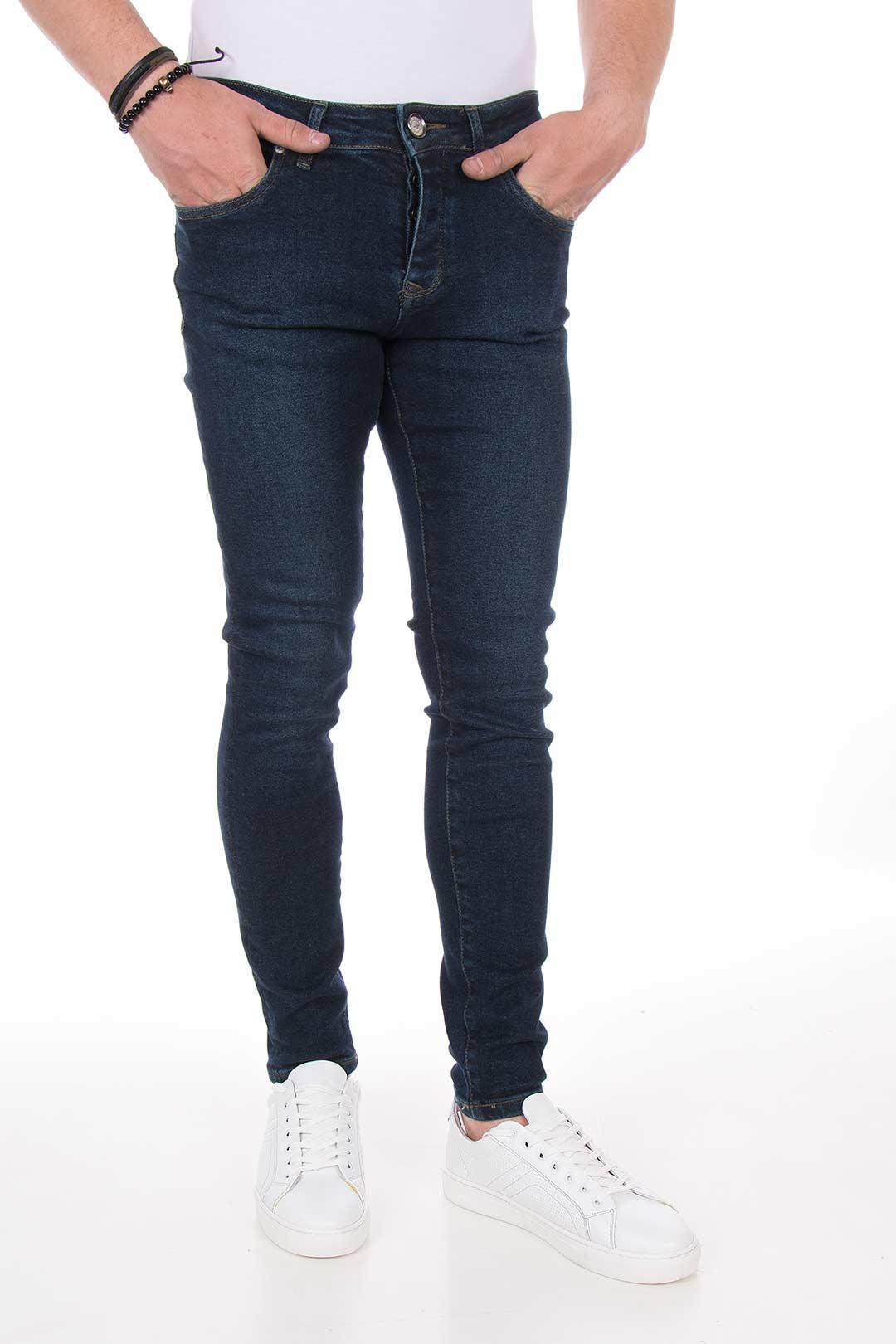 مدل شلوار جین کشی مردانه شلوار جین جذب مردانه MASERATI | فروشگاه اینترنتی سالست