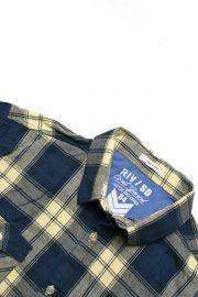 پیراهن چهارخانه مردانه River Island