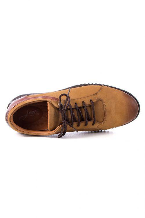 کفش راحتی چرم طبیعی مردانه Jest