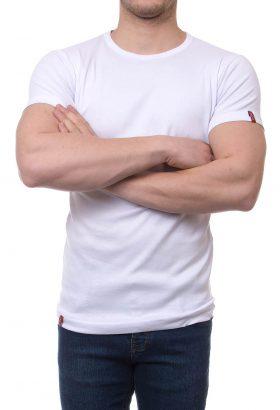 تیشرت یقه گرد ساده مردانه LEVIS
