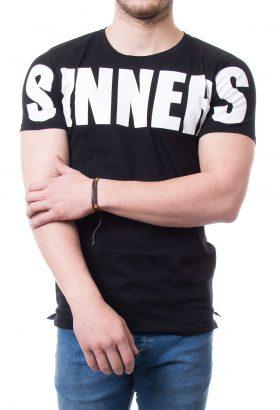 تیشرت نیم لانگ مردانه SINNERS