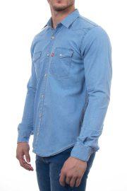 پیراهن جین مردانه دو جیب Levis