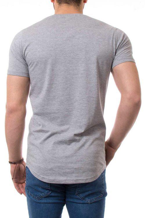 تیشرت چاپی نیم لانگ مردانه طرح NIKE
