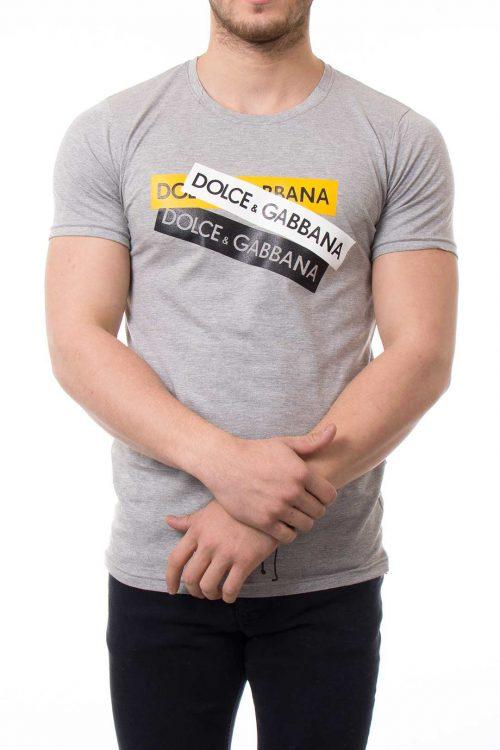 تیشرت یقه گرد مردانه Dolce Gabana