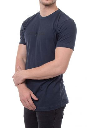 تیشرت یقه گرد مردانه طرح SUPER DRY
