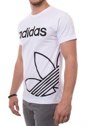 تیشرت یقه گرد مردانه طرح adidas