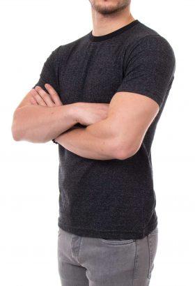 تیشرت یقه گرد مردانه C-h