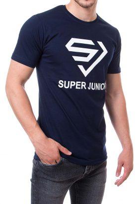 تیشرت یقه گرد مردانه طرح SUPER JUNIOR