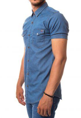 پیراهن جین آستین کوتاه مردانه ROCCO