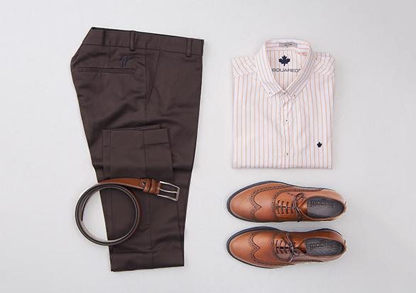 ست رسمی شلوار پارچه ای و پیراهن