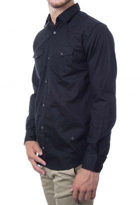 پیراهن آستین کوتاه بلند کش مردانه Calvin Klein