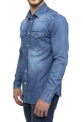 پیراهن جین مردانه Lee