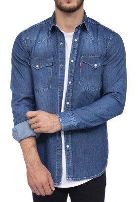 پیراهن جین مردانه Levis