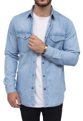 پیراهن جین مردانه Super Dry