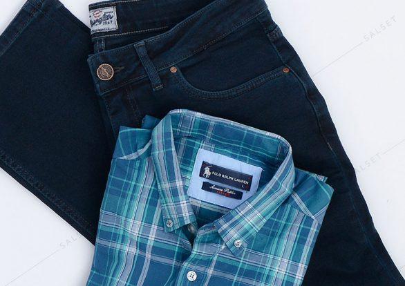 ست پیراهن و شلوار کلاسیک