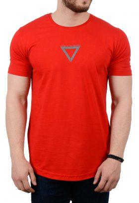 تیشرت مردانه قرمز مدل 1781
