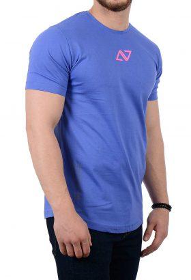 تیشرت مردانه آبی مدل 1764