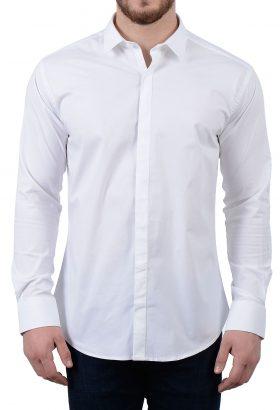 پیراهن مردانه کلاسیک سفید 1760
