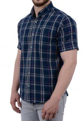 پیراهن آستین کوتاه مردانه POLO مدل 1851