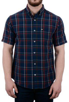 پیراهن آستین کوتاه مردانه POLO مدل 1849