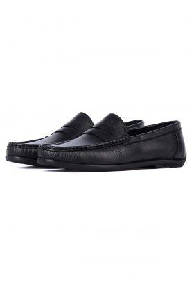 کفش کالج مردانه چرم طبیعی TODS مشکی 662