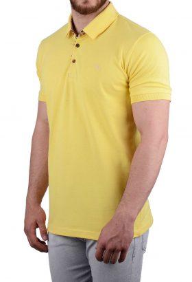 پولوشرت مردانه جودون Burberry زرد