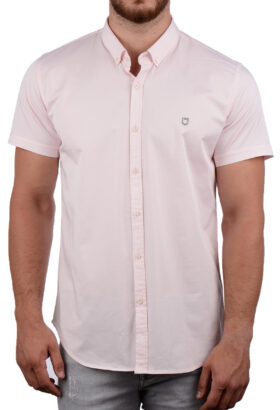پیراهن آستین کوتاه مردانه Hermes صورتی 2007