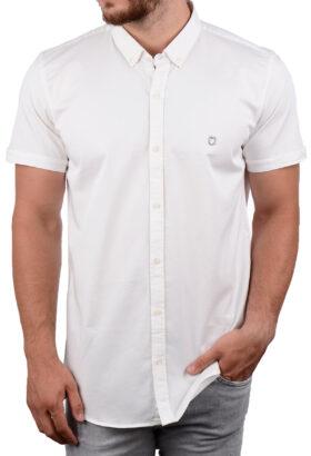 پیراهن آستین کوتاه مردانه Hermes سفید 2011