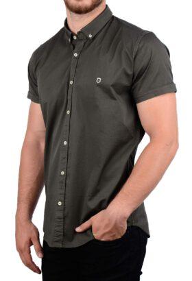 پیراهن آستین کوتاه مردانه Hermes زیتونی 2010