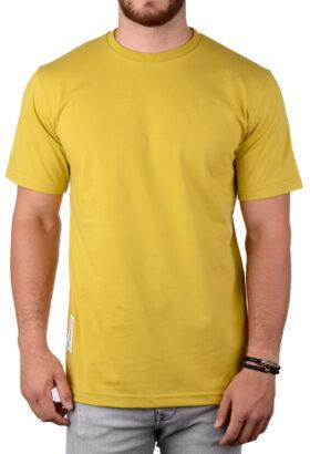 تیشرت مردانه BOSS زرد 2035
