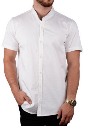 پیراهن آستین کوتاه مردانه Burberry سفید 2089