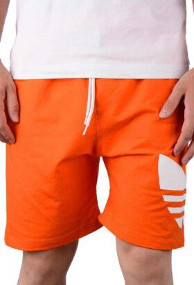 شلوارک مردانه اسپرت طرح adidas نارنجی 661