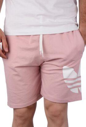 شلوارک مردانه اسپرت طرح adidas صورتی 663