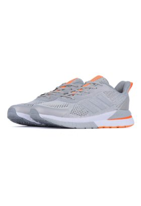 کفش ورزشی مردانه طرح adidas طوسی 677